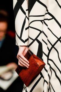 Bottega Veneta Red Intrecciato Clutch Bag - Fall 2014