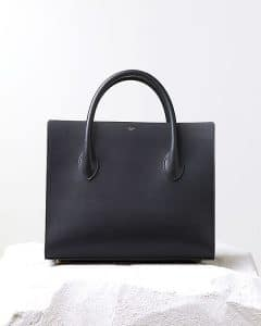 Celine Black Calfskin Boxy tote Bag - Pre Fall 2014