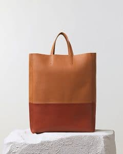 Celine Brick Bicolor Cabas Bag - Pre Fall 2014