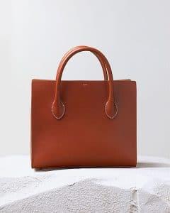 Celine Brick Boxy Calfskin Tote Bag - Pre Fall 2014