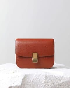 Celine Brick Liege Box Flap Bag - Pre Fall 2014