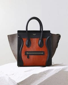 Celine Brick Pony Hair Mini Luggage Bag - Pre Fall 2014
