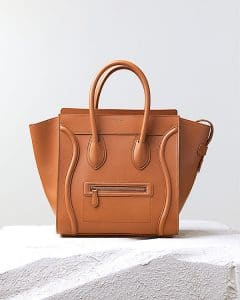 Celine Light Copper Mini Luggage Bag - Pre Fall 2014