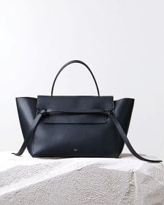 Celine Navy Belt Knot Calfskin Tote Bag - Pre Fall 2014