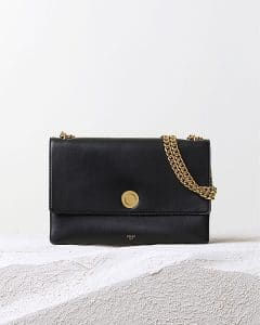 Celine Navy Coin Flap Shoulder Bag - Pre Fall 2014
