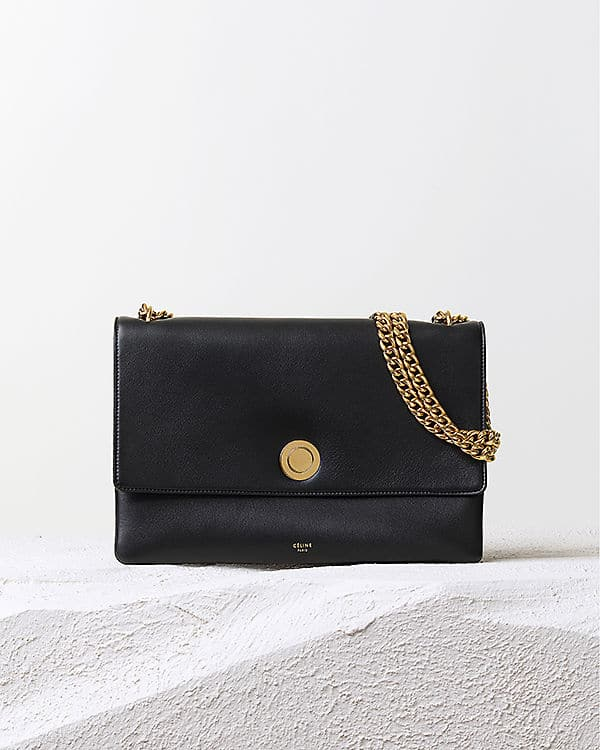 Celine Navy Coin Flap Shoulder Bag - Pre Fall 2014 940f4106c176c