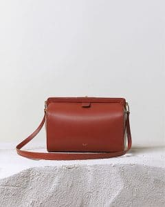 Celine Orange Brick Mini Doc Messenger Bag - Pre Fall 2014