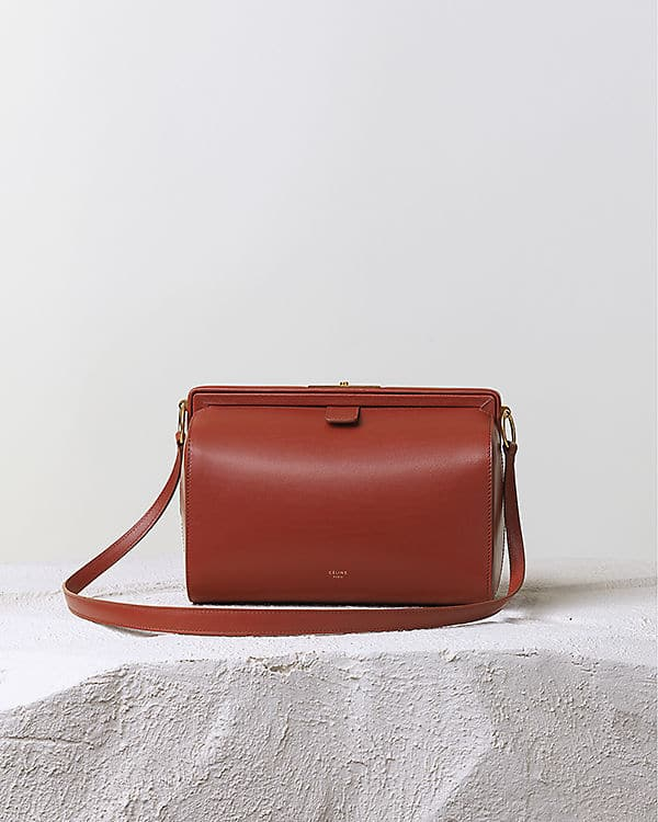 b4928e8e57ab Celine Orange Brick Mini Doc Messenger Bag - Pre Fall 2014