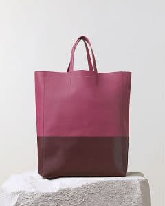 Celine Orchid Purple Bicolor Cabas Bag - Pre Fall 2014