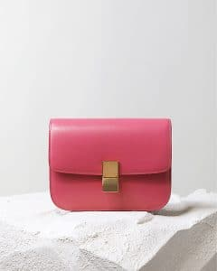 Celine Pink Box Flap Bag - Pre Fall 2014