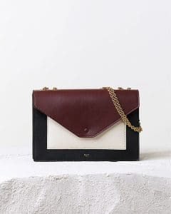 Celine Pocket Envelope Flap Bag with Chain - Pre Fall 2014