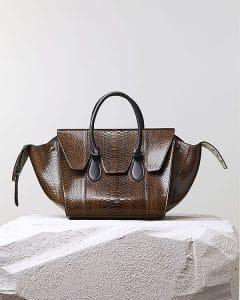 Celine Python Tie Knot Tote Bag - Pre Fall 2014