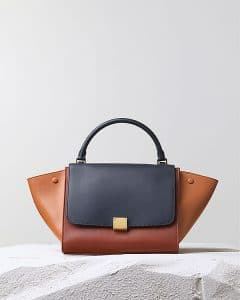 Celine Tricolor Brick Trapeze Bag - Pre Fall 2014