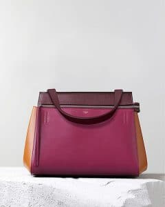 Celine Tricolor Purple Edge Tote Bag - Pre Fall 2014