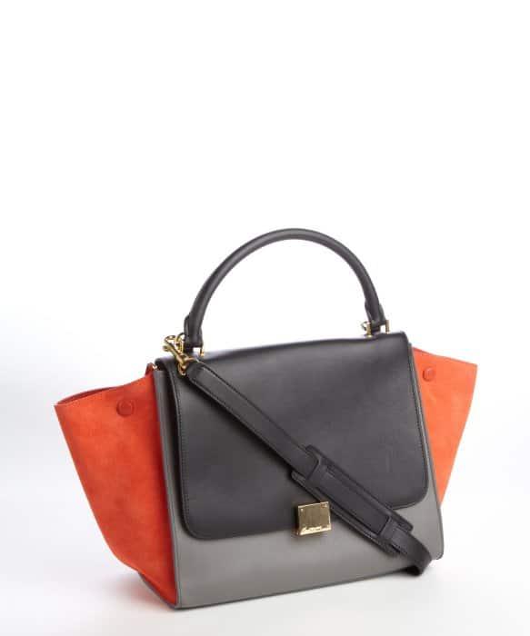 Celine Tricolor Trapeze Bag - Bluefly