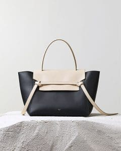 Celine bicolor Belt Knot Tote Bag - Pre Fall 2014