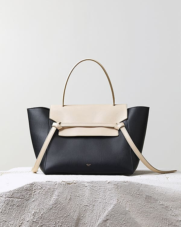Celine bicolor Belt Knot Tote Bag - Pre Fall 2014 ffefc75e20f30