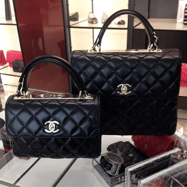 Chanel Trendy CC Tote Bag Reference Guide – Spotted Fashion Chanel Flap Bag 2014
