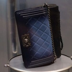 Chanel Blue Ombre Faded Boy bag - Spring 2014