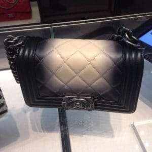 Chanel Ombre Faded Boy Bag - Spring 2014