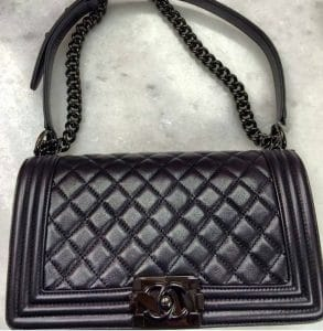 Chanel So Black Boy Bag
