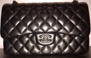 Chanel So Black Jumbo Flap Bag