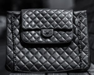 Chanel So Black Tote Bag
