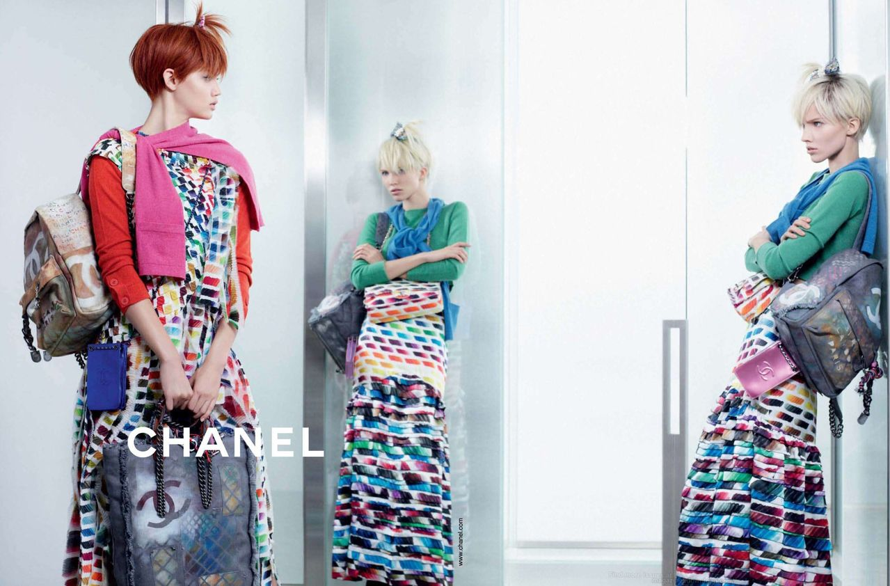 New Chanel Act 2 Bags In The Campaign Photos For Spring