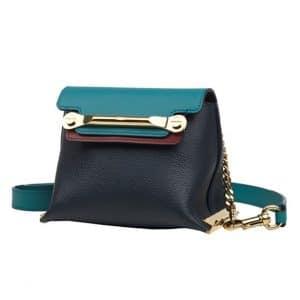 Chloe Blue Clare Crossbody Mini Bag - Spring 2014