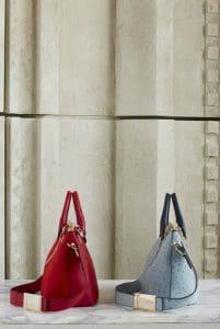 Chloe Blue Ostrich Baylee Tote Bag - Pre Fall 2014