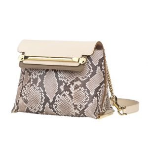 Chloe Coco Milk Python Clare Crossbody Mini Bag - Spring 2014