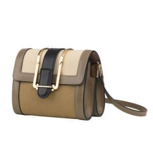 Chloe Olive Green Bronte Crossbody Mini Bag - Spring 2014