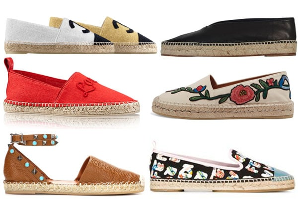 14e0e40cf2efb7 The Guide to Luxury Espadrilles for Chanel, Celine and Valentino ...