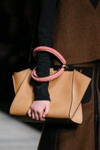 Fendi 3jours Tote Bag with shearling handle - Fall 2014