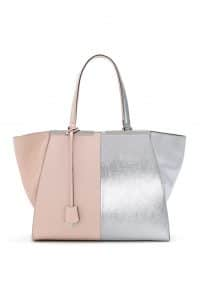 Fendi Baby Pink/Silver 3Jours Tote Large Bag - Spring 2014
