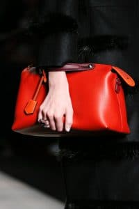 Fendi Red Box Clutch Tote bag - Fall 2014