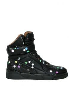 Givenchy Dots Confetti High Top Sneakers - Spring 2014