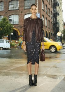 Givenchy confetti Dots Skirt - Spring 2014
