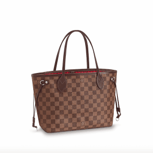Louis Vuitton Damier Ebene Neverfull PM Bag