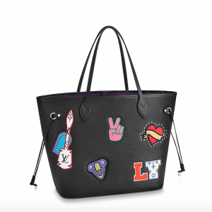 Louis Vuitton Epi Stickers Neverfull MM Bag