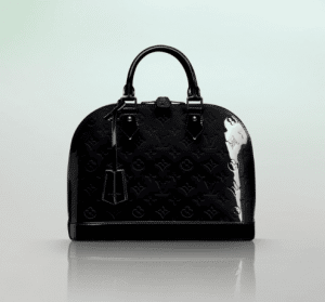 Louis Vuitton Noir Magnetique Monogram Vernis Alma PM Bag