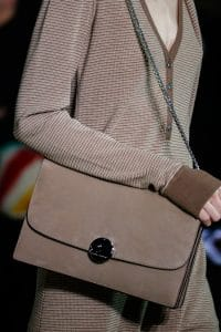 Marc Jacobs Taupe Suede Chained Flap Bag - Fall 2014