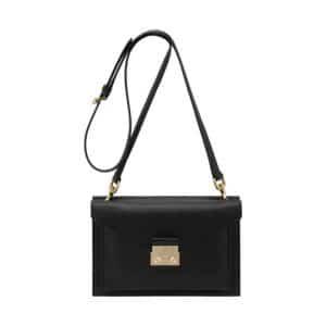 Mulberry Black Velvet Calf Kensal Small Shoulder Bag