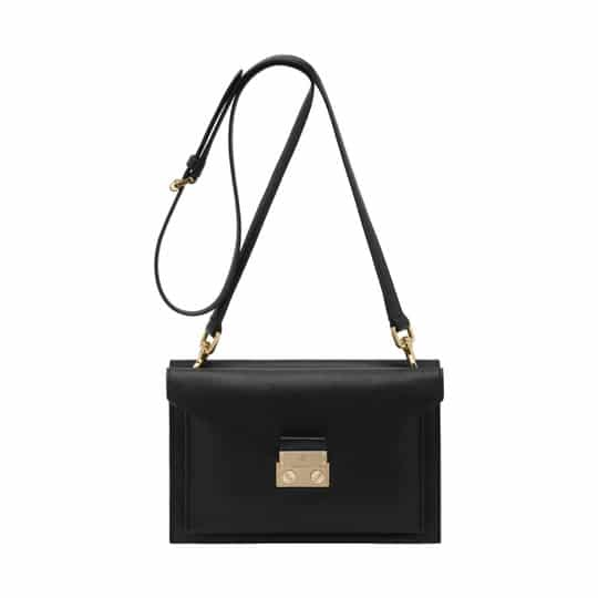 Small Black Shoulder Bag 109