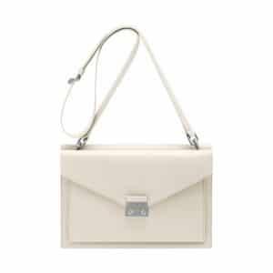 Mulberry Cream Velvet Calf Kensal Shoulder Bag