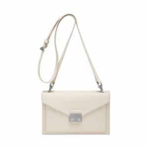Mulberry Cream Velvet Calf Kensal Small Shoulder Bag