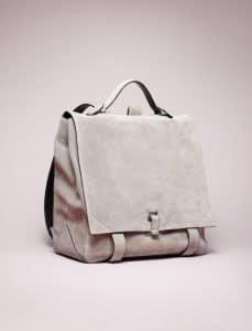 Proenza Schouler Beige Suede PS Backpack Bag - Spring 2014