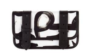 Proenza Schouler Black Graphic PS1 Wallet for Le Bon Marche