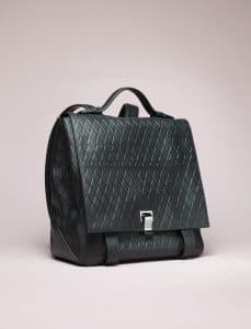 Proenza Schouler Black PS Backpack Bag - Spring 2014
