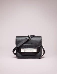 Proenza Schouler Black PS11 Tiny Bag - Spring 2014